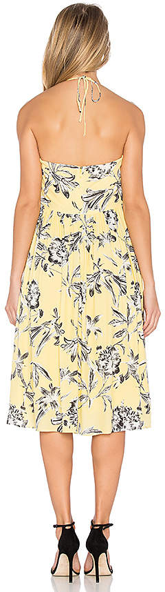 BB Dakota Joss Dress in Yellow 2