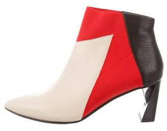 United Nude Pointed-Toe Ankle Boots