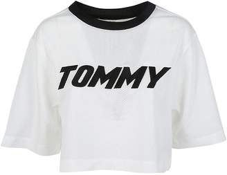 Tommy Hilfiger Cropped Racing T-shirt