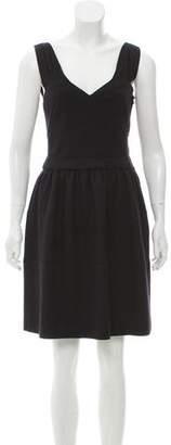 Prada Wool Knee-Length Dress