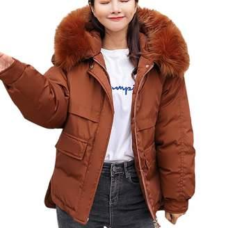 at Amazon Canada · LIKESIDE womens clothes LIKESIDE Women Winter Coat Down  Jacket Lady Fur Hooded Jacket Long Puffer Parka eb05d39580
