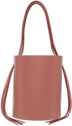 Mansur Gavriel Pink Fringe Bucket Bag