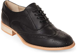 Wanted Black Babe Wingtip Oxfords