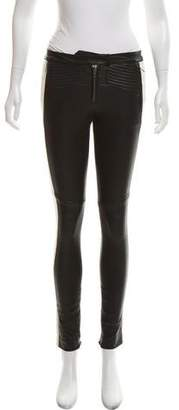 A.L.C. Leather Skinny Pants