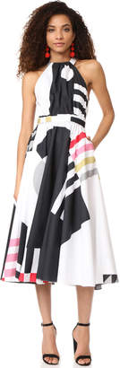 Milly Nautical Abstract Print Lizzy Dress $750 thestylecure.com
