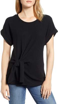 &.Layered Twist Front Top