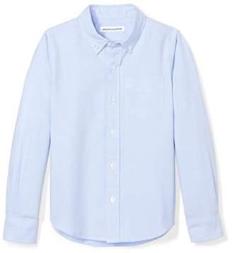 Amazon Essentials Little Boys' Long-Sleeve Uniform Oxford Shirt