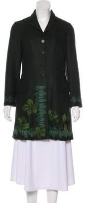 Kenzo 2016 Embroidered Coat