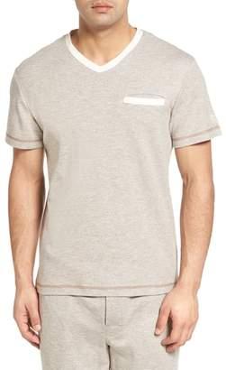 Majestic International Vintage Space Cadet V-Neck T-Shirt