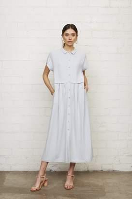 Rachel Pally Linen Andi Dress - Bluebell