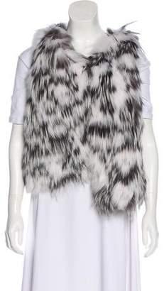 Oscar de la Renta Fox Fur Vest w/ Tags