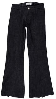 Co Mid-Rise Wide-Leg Jeans
