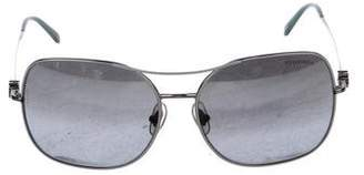 Tiffany & Co. Square Gradient Sunglasses