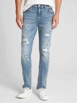 Gap Distressed Jeans in Skinny Fit with GapFlex