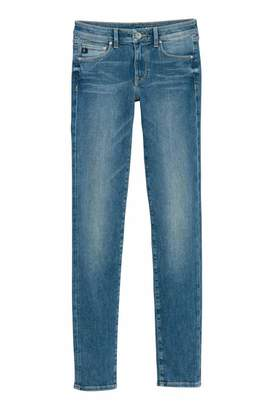 H&M Shaping Skinny Low Jeans - Denim blue - Women