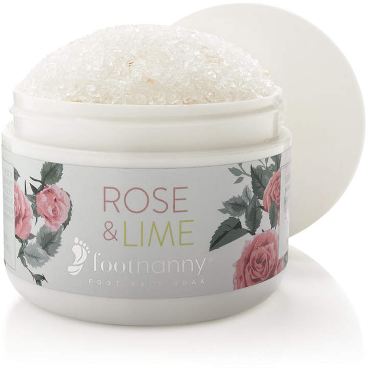 Footnanny Rose & Lime Foot Salt Soak
