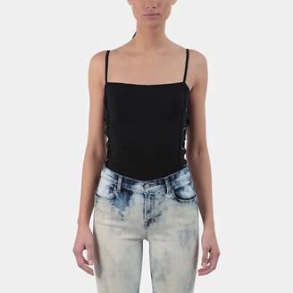 RtA Eveline Lace-Up Bodysuit