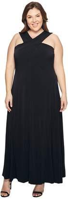 MICHAEL Michael Kors Size Cross Neck Dress Maxi Women's Dress