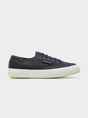 Superga New Womens 2750 Cotu Classic Sneakers In Navy And White Womens