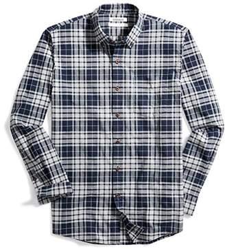 Goodthreads Men's Standard-Fit Small Tartan Oxford Shirt