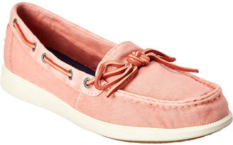 Sperry Oasis Canal Canvas Boat Shoe