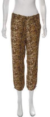 Nieves Lavi Printed Silk Pants