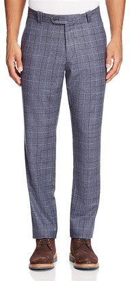 The Men's Store at Bloomingdale's Wool Shadow Check Trousers $135 thestylecure.com