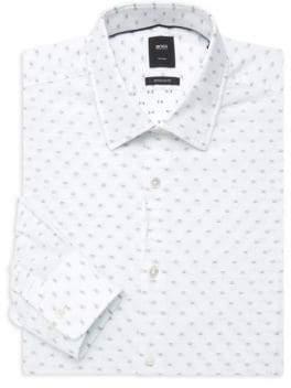 9ae89cc7 HUGO BOSS Regular-Fit Printed Dress Shirt