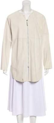 Fabiana Filippi Leather Short Coat