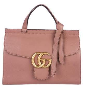 Gucci Small GG Marmont Top Handle Bag