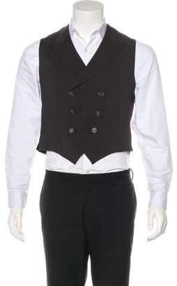Lanvin Wool Suit Vest