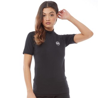 Board Angels Womens Rash Vest Black