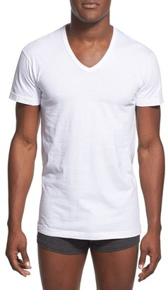 Men's 2(X)Ist Slim Fit 3-Pack Cotton T-Shirt $38 thestylecure.com