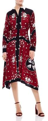 Sandro Rosa Shirt Dress