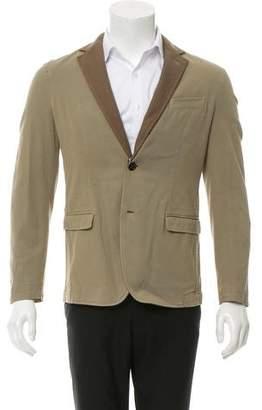 Dondup Two-Button Wool-Paneled Blazer w/ Tags