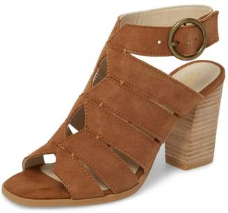 Seychelles Shoes Completely Engaged Tan Suede Stack Heel