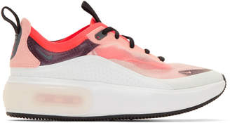 Nike Off-White and Pink Air Max Dia Sneakers