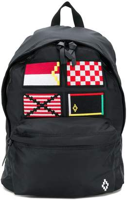 Marcelo Burlon County of Milan patch backpack