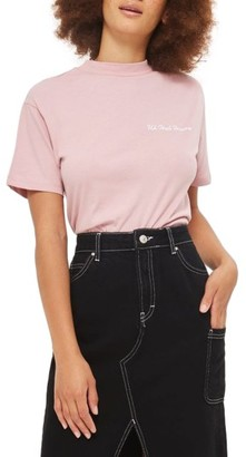 Women's Topshop By Tee & Cake Uh Huh Honey Tee $40 thestylecure.com