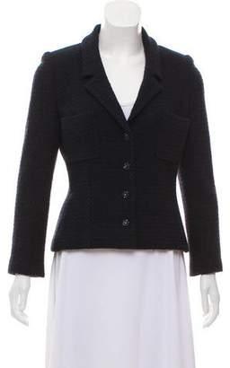 Chanel Structured Wool Blazer