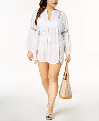 Raviya Plus Size Crochet Cover-Up