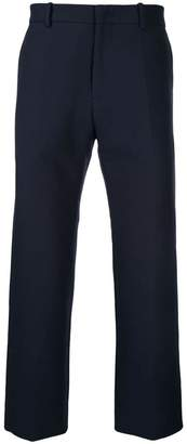 No.21 cropped regular trousers