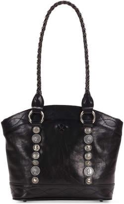 Patricia Nash Studded Hardware Zorita Shoulder Bag