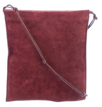 The Row Suede Medicine Pouch w/ Tags silver Suede Medicine Pouch w/ Tags