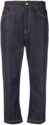 Fendi cropped jeans