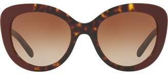 Burberry Eyewear round frame sunglasses