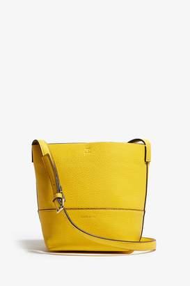 b51be4c6c3 Next Womens Karen Millen Yellow PU Leather Bag