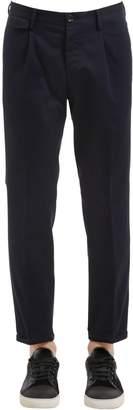 Pt01 20cm Double Twisted Gabardine Pants