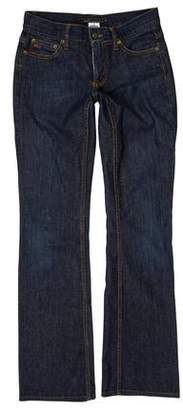Marc Jacobs Low-Rise Bootcut Jeans