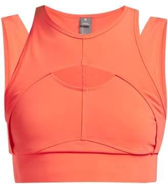 adidas by Stella McCartney Triathlon Crop Top - Womens - Orange